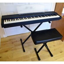 YAMAHA P70 DIGITAL PIANO w/ STAND, BENCH MUSIC STAND, LOCAL P/U IN SOCAL ONLY