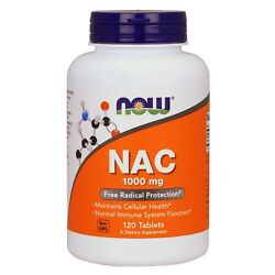 NOW Foods NAC, 1000 mg, 120 Tablets