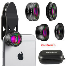 Professional Phone Camera Lens 5 in1 Kit Clip On for Phone SAMSUNG Smartphone
