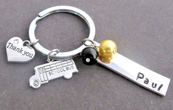 Details about School Bus KeyChain 78a44cdba