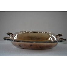 Vintage REFLECTION Rogers Bros 1847 BOWL Silverplate Covered vegetable serving