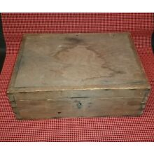 Antique Dovetailed Wood Box
