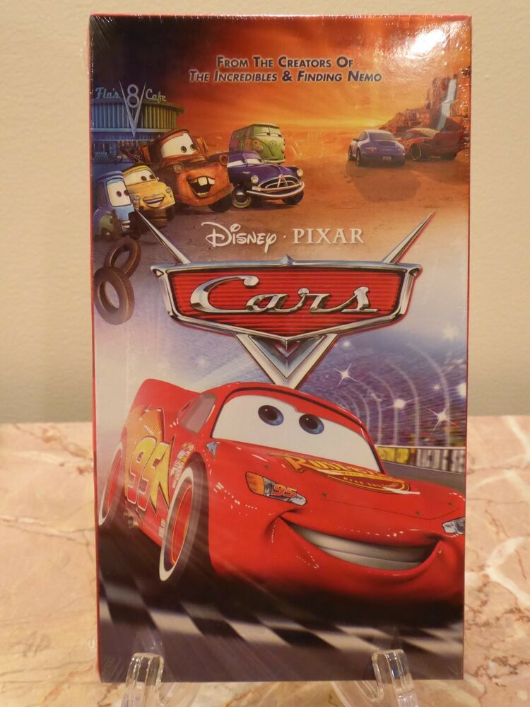 New Factory Sealed Disney Pixar Cars Vhs Tape Extremely Rare Never Opened Ebay