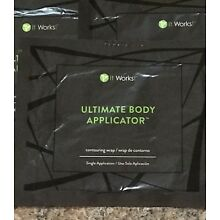 Contouring Slimming All Natural Body Wrap It Works to Firm Tone Tighten 5 Wraps