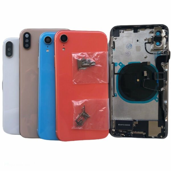 Replacement Back Housing Battery Cover Frame Assembly For iPhone 8 Plus iPhone X