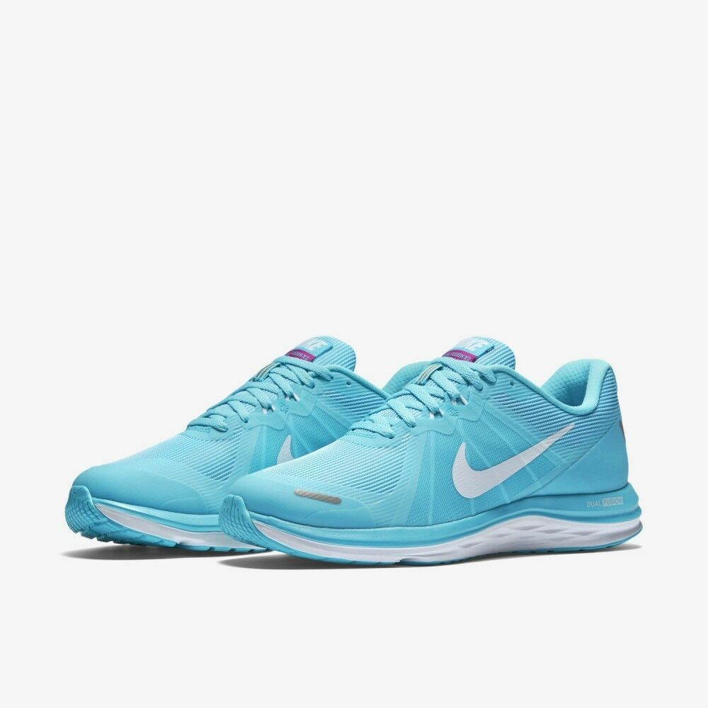 188adf79fda9b Details about Nike Dual Fusion X 2 (819318-400) Women Running Shoes  Training Sneakers Trainers