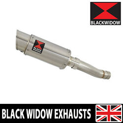 Speed Triple 1050 R 11-15 Single Low Exhaust Silencer Round Stainless 200SS