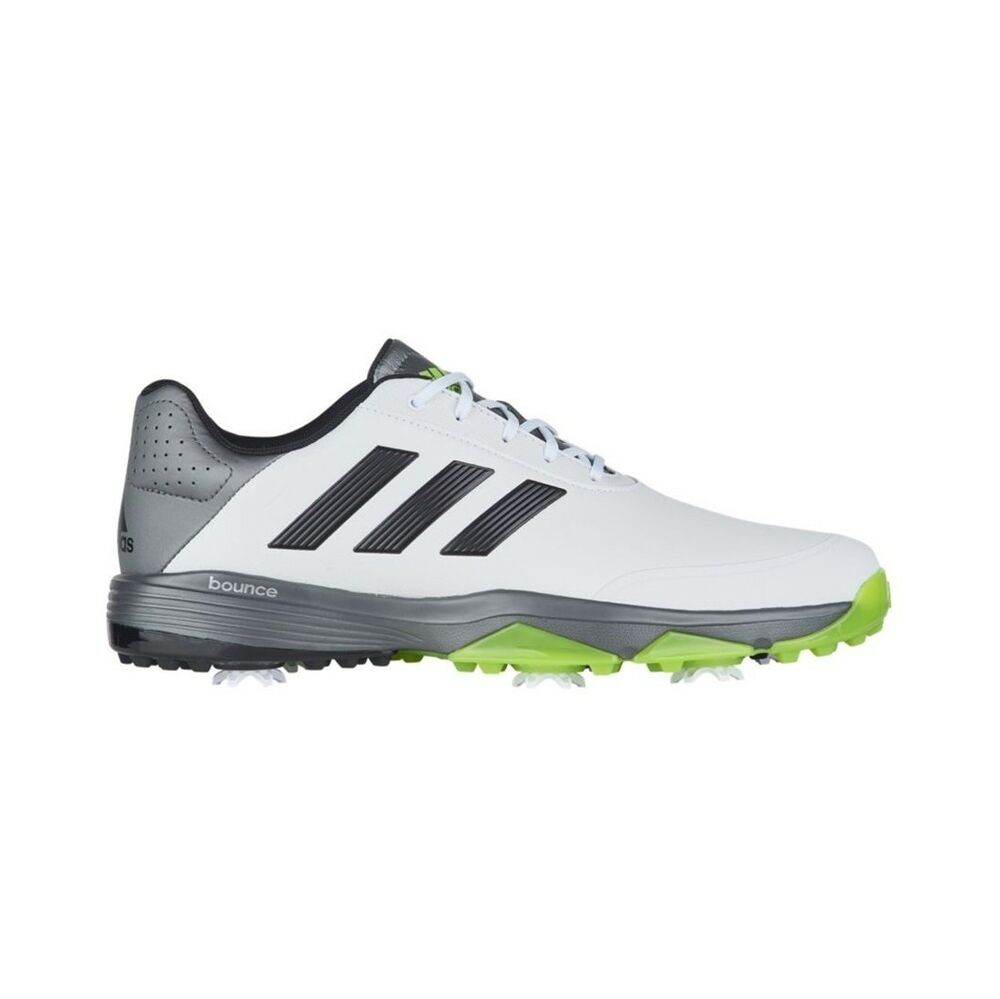 e107cae2e Details about NEW MEN S ADIDAS ADIPOWER BOUNCE GOLF SHOES WHITE  Q44787 Q44790 - PICK A SIZE