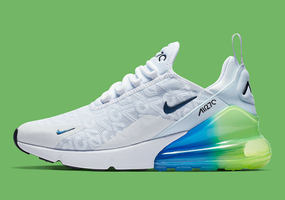various colors be21c b25f0 Details about New Nike Men s Air Max 270 SE Shoes (AQ9164-100)  White Explosion Green-Yellow