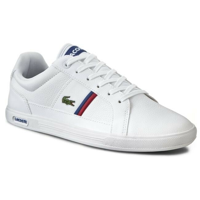 36568ebd82 Details about lacoste europa tcl spm leather trainers shoes mens