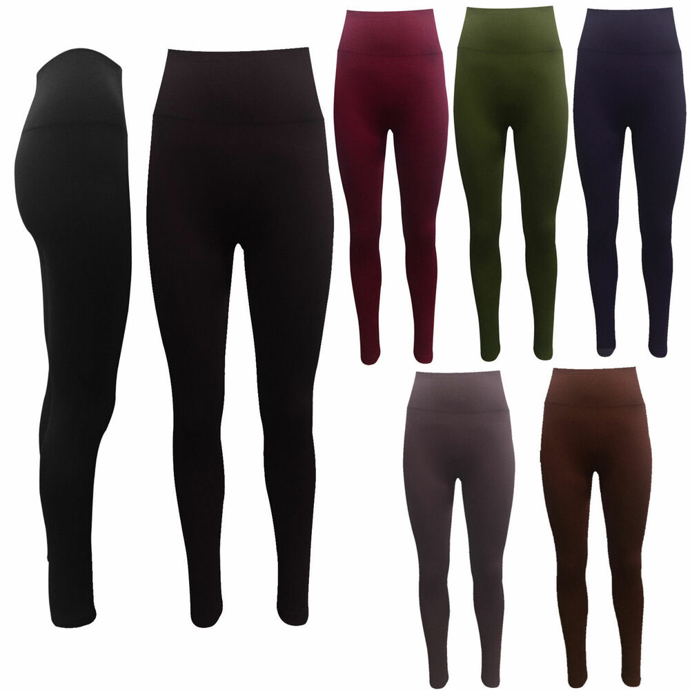c5ef5a579 Details about High Waist Leggings Seamless Shapewear Leggings Control  Slimming Tummy Support