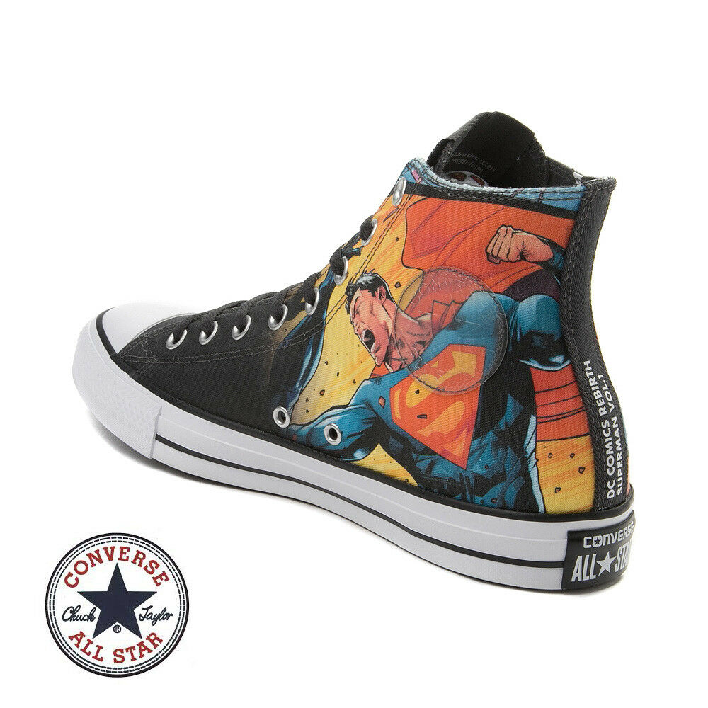 d3dfaa825aad Details about Converse Superman DC Comics Mens Shoes Vol 1 Limited Edition