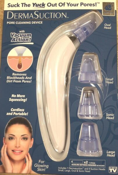 Derma Suction DermaSuction Blackhead Remover Genuine BulbHead Product US STOCK