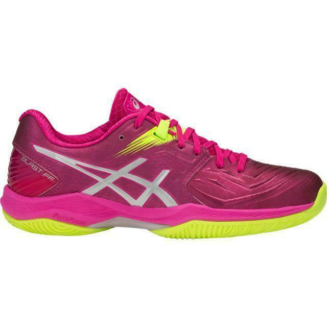 sale retailer 9722a b06b3 Details about Asics Gel Blast FF Womens Indoor Court Shoe - Pink Silver -  Authorized Dealer