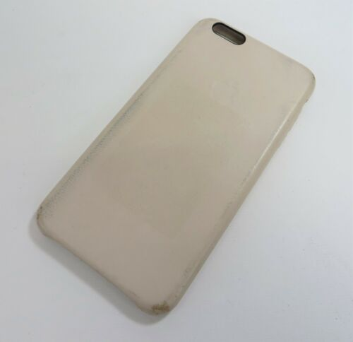 Genuine Apple Leather Case For iPhone 6 S Plus Rose Gray MKXE2ZM/A USED