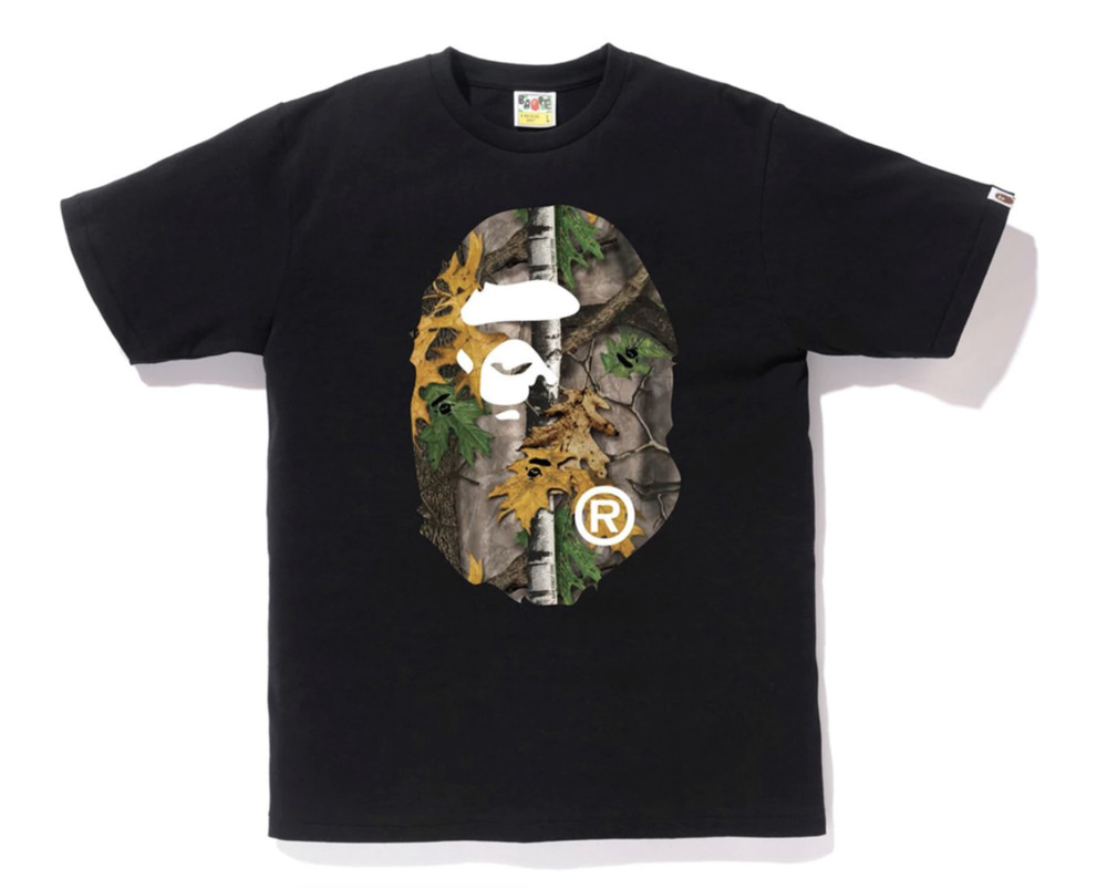 c6a4e63176bd Details about Bape Big Ape Head Tee (Forest Camo) new with tags men size M free  shipping