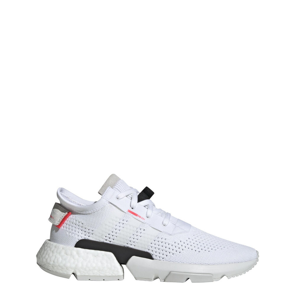 check out 5dc13 dc89a Details about New Adidas Men s Originals Pod-S3.1 Boost Shoes (DB3537)  White    White-Red