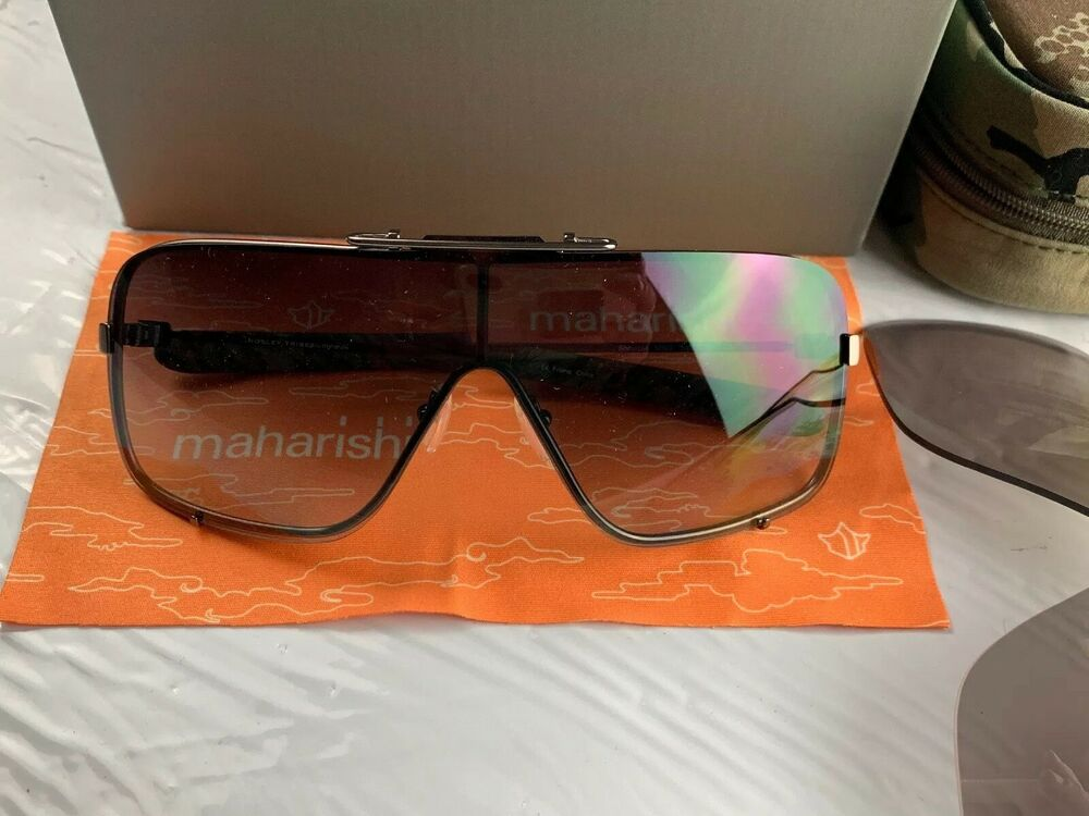 7cb484afea2 Details about Mosley Tribes X MAHARISHI VERY VERY RARE BNIB 3 LENS 100%  AUTHENTIC
