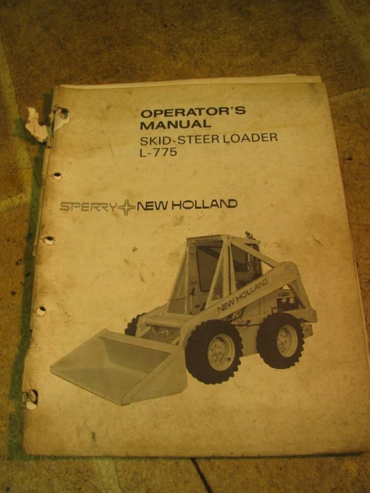 New Holland 775 Skid Steer Parts Diagram - Wiring Diagram Query on