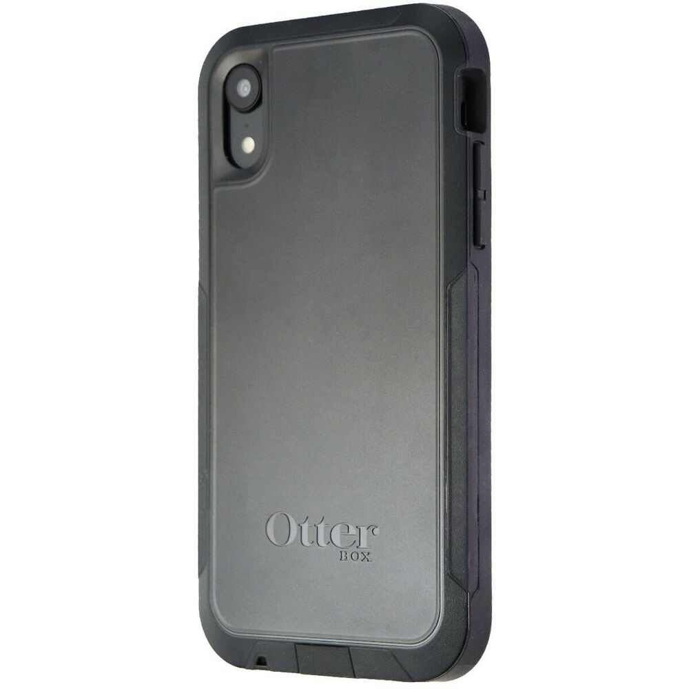 buy popular 5e5ae 0597a Otterbox Pursuit Series Protective Case for Apple iPhone XR - Black  660543471912 | eBay