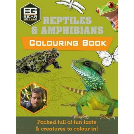 img-Bear Grylls Colouring Books: Reptiles (Bear Grylls Activity), Bear Grylls, New,