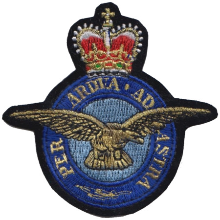img-Royal Air Force RAF Insignia Embroidered Patch