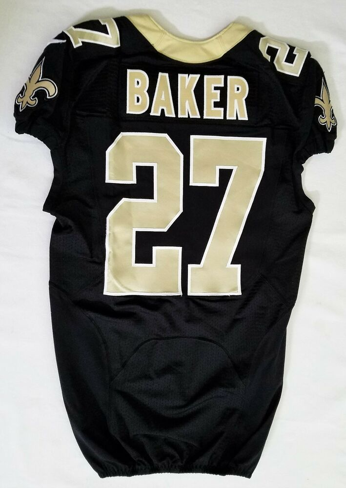27 Edwin Baker Authentic Nike Game Issued Jersey of New Orleans  supplier