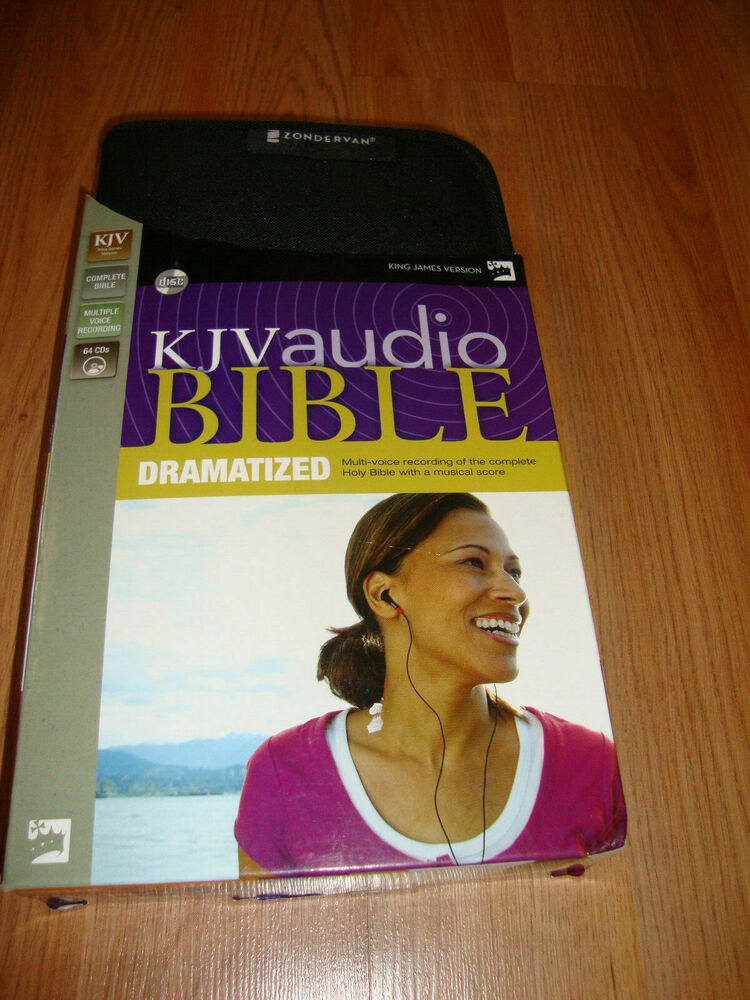 Dramatized Bible-KJV by Zondervan (English) Compact Disc Book Missing 9  discs 9780310936091 | eBay