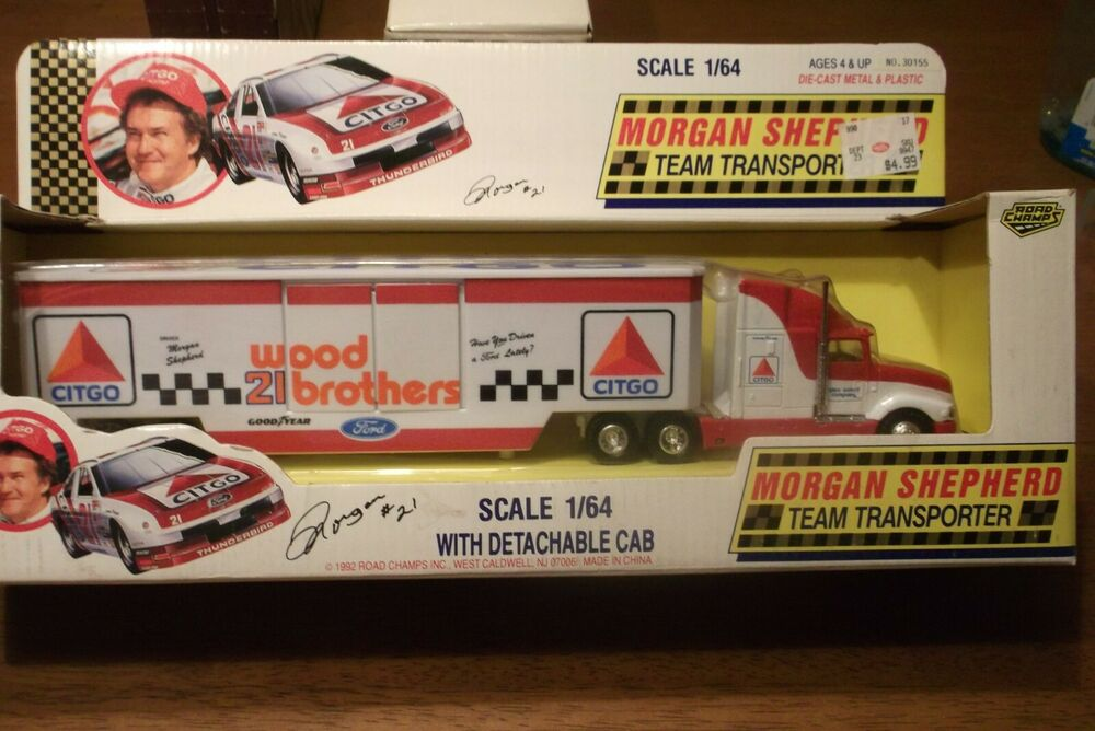 Fan Apparel & Souvenirs Nascar Morgan Shepherd #21 Diecast Metal/plastic Official Stock Car Collection Racing-nascar