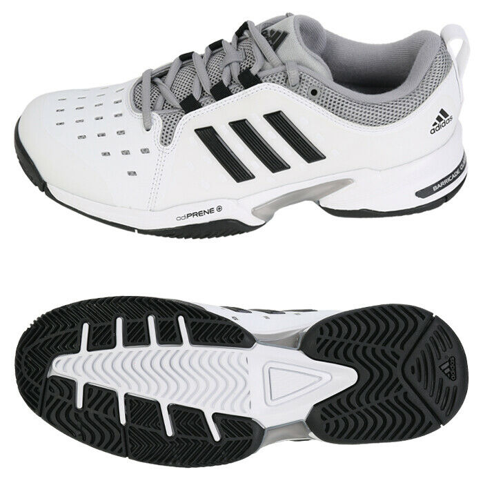 online store 36120 8aff7 Details about Adidas Barricade Classic Wide 4E (BY2920) Tennis Shoes  Sneakers Trainers Boots