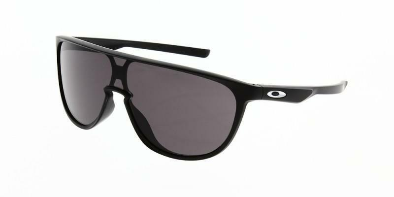 2c43c8df75 Details about New Oakley TRILLBE Sunglasses Matte Black Warm Grey OO9318-05  Sport- Authentic