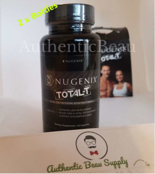 Nugenix TOTAL Testosterone Booster 84 Capsules  Free Shipping