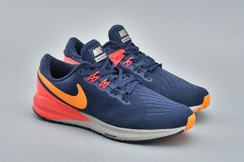 info for 4dde4 2e422 Details about NEW NEW Nike Zoom Structure 22 Women Size 9 Blackened Blue