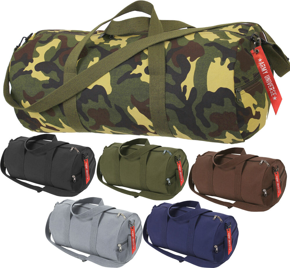 Details about Camo Tactical Shoulder Bag Sports Canvas Gym Weekend Carry  Strap Tote Duffle 4b857cffa6c
