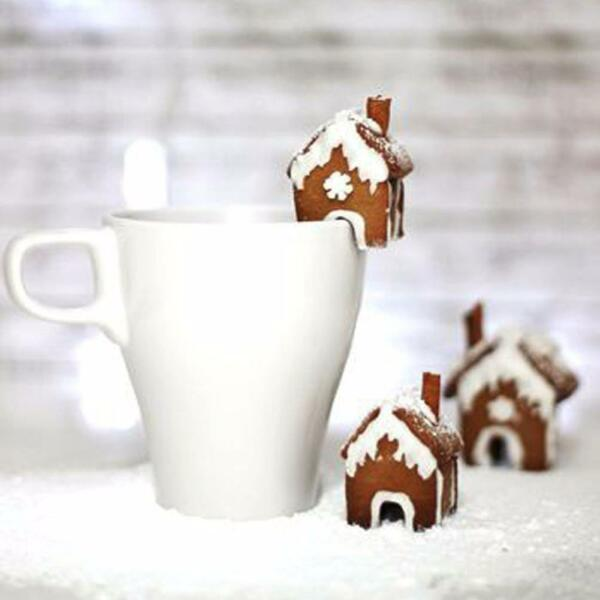 Christmas Gingerbread House Cookie Cake Mold Cutters Biscuit Mold Stainless hot