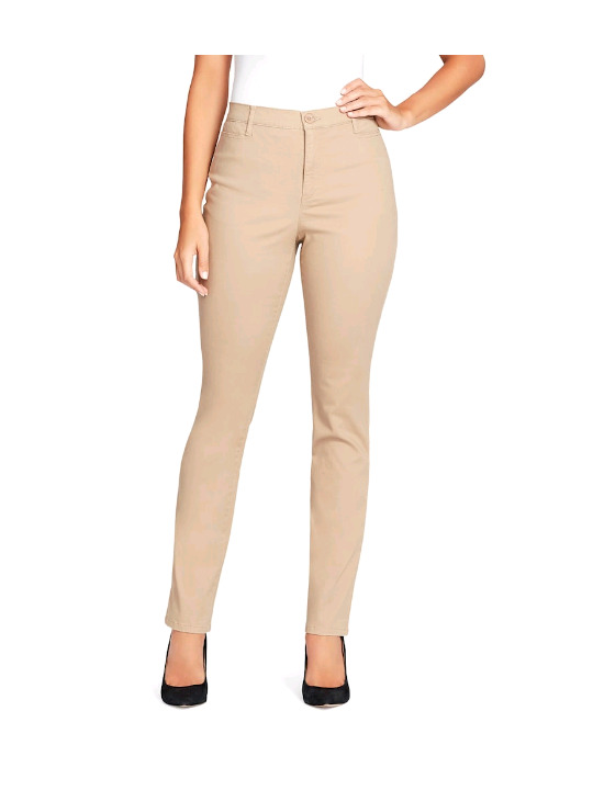2becd5f10534f Details about Women s Gloria Vanderbilt Amanda Classic Tapered Trouser Pants