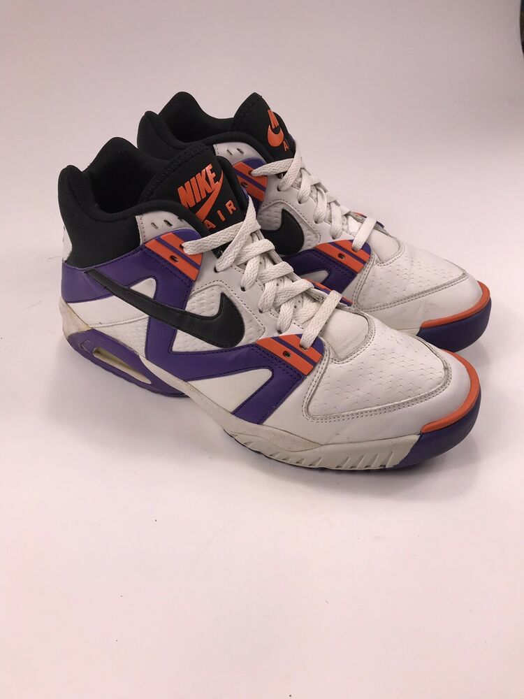 c89cd27d44a Nike Air Tech Challenge 3 Purple Andre Agassi Size 10.5 315956 101 I II III