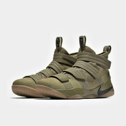 9efdaf2db2a Details about NIKE LeBron Soldier XI SFG Men s Basketball Shoes 897646-200  sz 12.5