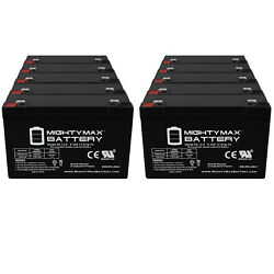 Mighty Max 6V 12AH Battery Replaces Cambridge instrument A05 Mobilizer - 10 Pack