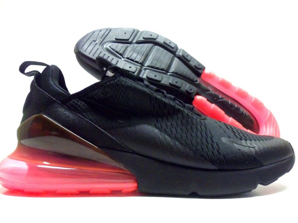 6bf915d072d Details about NIKE AIR MAX 270 BLACK BLACK-HOT PUNCH SIZE MEN S 15  AH8050- 010