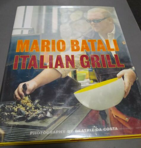 Italian Grill by Mario Batali, Judith Sutton  ExLib 1st Ed. EXCELLENT Condition
