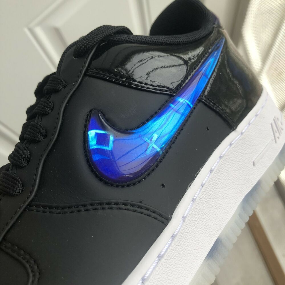 8175398b5be8 Details about Nike SNKRS Playstation 9.5 PS4 E3 Air Force 1 QS LA Los  Angeles Exclusive