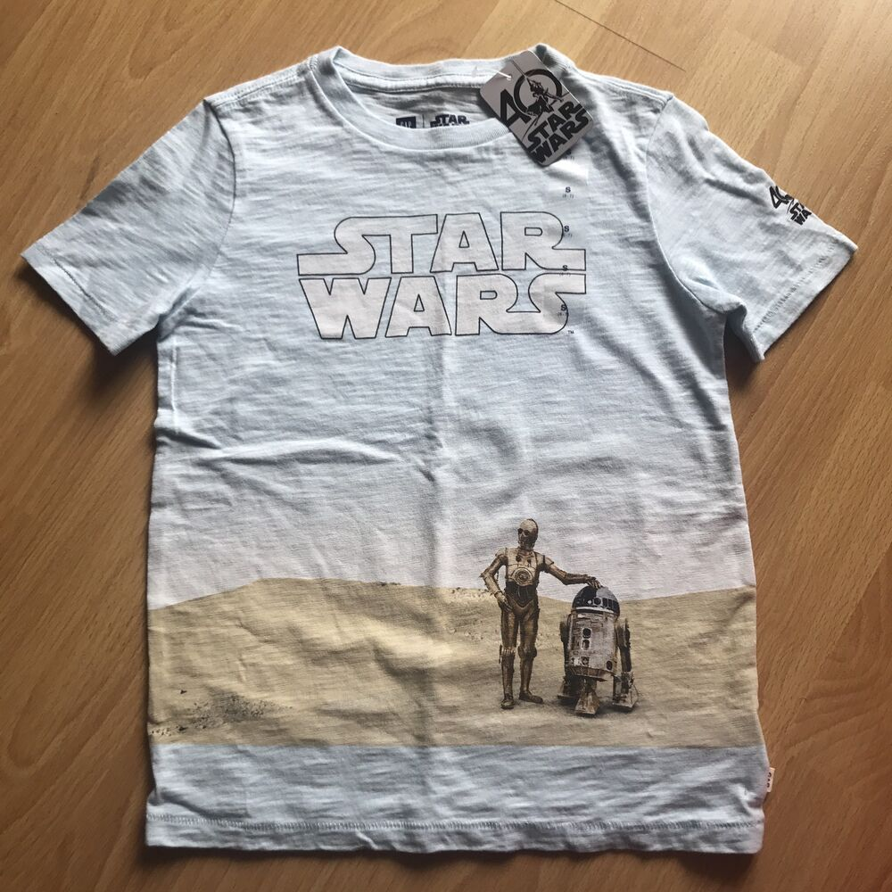 e68802a5a Details about NWT Gap Kids Star Wars Graphic Tee T-Shirt Size Small 6-7  Years S Tattooine Boys