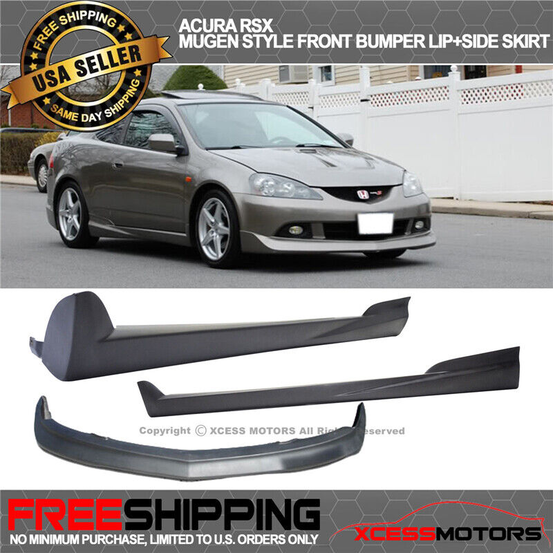 Fit 05-06 Acura RSX Mugen Style Front Bumper Lip Spoiler