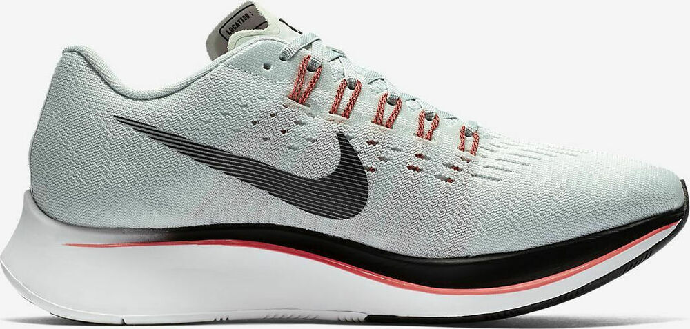 87dbb1e0a13ea Details about NIKE ZOOM FLY BARELY GREY OIL GREY HOT PUNCH RUNNING SHOE (  880848 009 ) SIZE 12