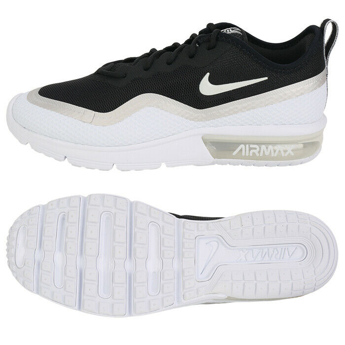 wholesale dealer 9026d ecce8 Details about Nike Air Max Sequent 4.5 (BQ8825-001) Womens Running Shoes  Sneakers Gym Trainers