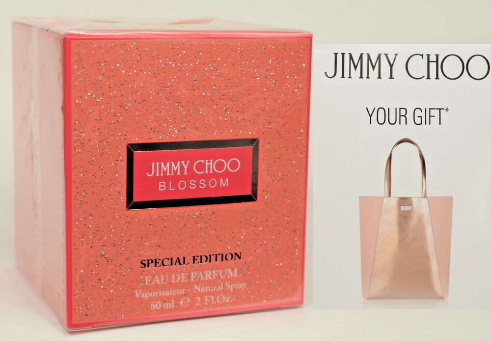edb5a78a3c Details about Blossom Special Edition by Jimmy Choo Perfume 60ml EDP Spray  + FREE Tote Bag