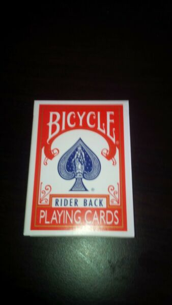cartes bycicle svengali rouge