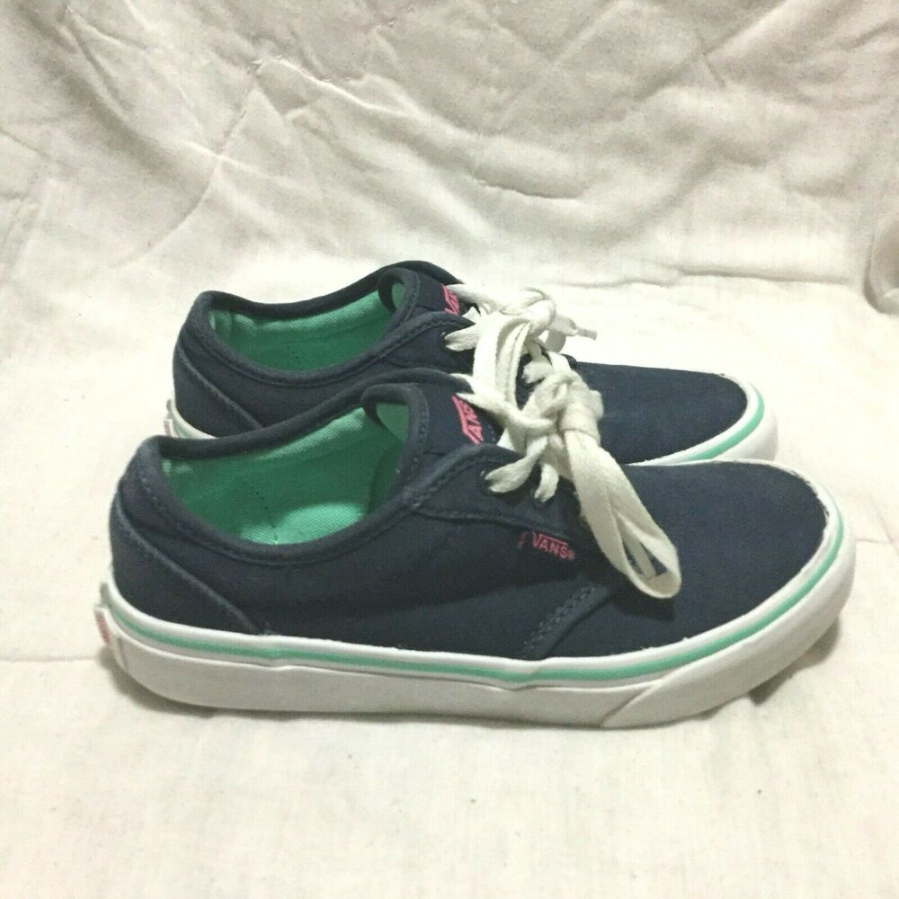 593b591f90 Details about VANS OFF THE WALL CASUAL SHOES   MULTI COLOR ( SIZE 2.5 )  YOUTH RARE !!