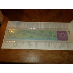 Imperial Instant Stencils ~ 12 - 2.45'' x 12'' Strips~ POOH/Daytime Means PlayTime
